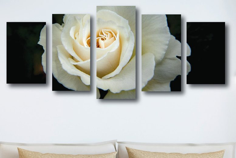 Image of From £23.99 instead of £119.99 (from Decomatters) for a five panel split canvas art, choose from 13 designs - save 80%