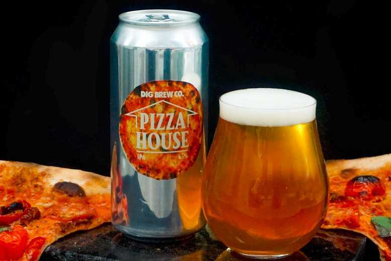 Image of £15 instead of £33 for a brewery tour, sample tasting, dough balls and pint for one, £29 for two or £57 for four at Dig Brew Co, Birmingham - save up to 55%
