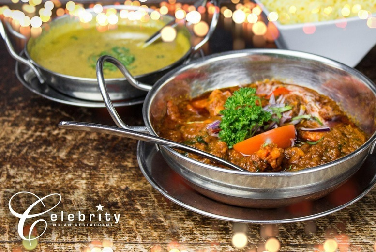 Image of £24 instead of £58 for two-course a la carte Indian dining for two at Celebrity Restaurant, Birmingham - save up to 59%