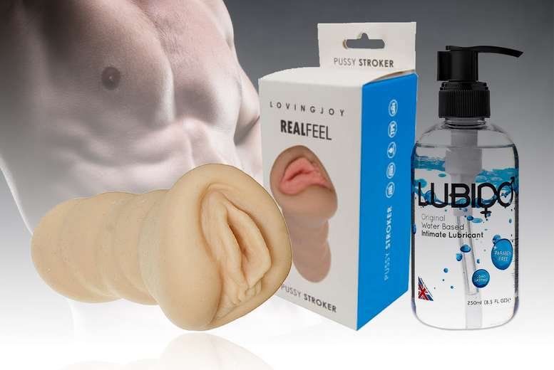 Image of £11 (from Hello pleasure) for a male sex toy or £15 for a male sex toy and lube