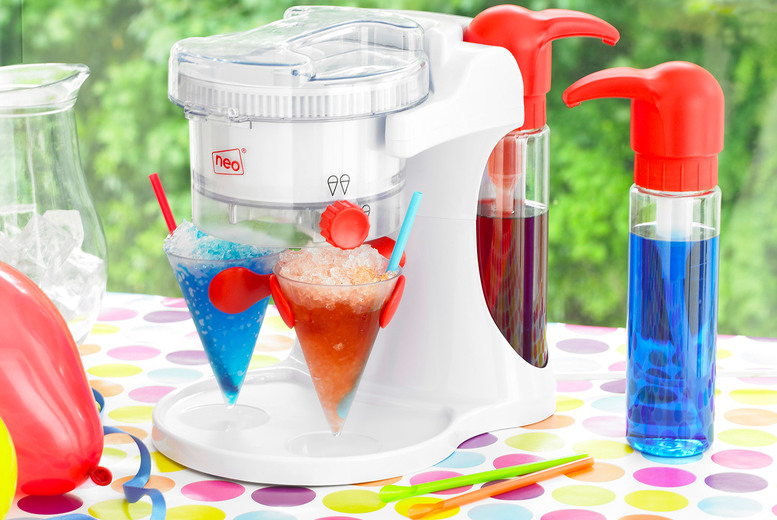 Image of £34.99 instead of £99.98 (from Home Empire) for a Neo ice snow cone slushy maker machine - save 65%