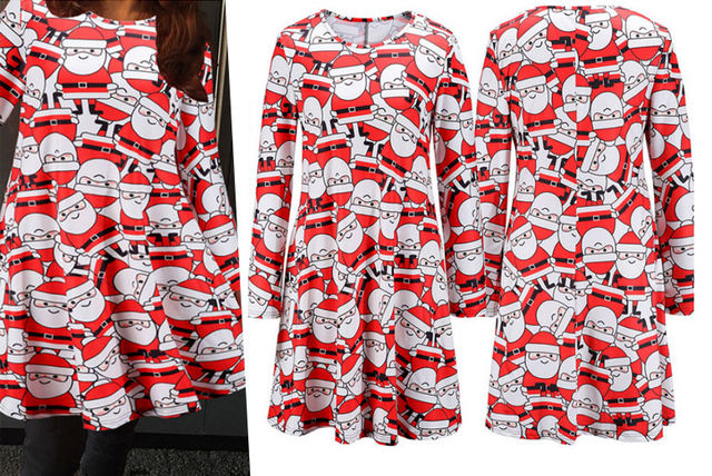 ed0897c9553d6 Christmas Swing Dress - 5 Sizes! | Shopping | LivingSocial