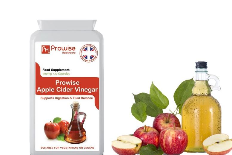 From ?7.99 for a four-month or eight-month supply of Apple Cider Vinegar Capsules from PROWISE HEALTHCARE LTD - save up to 78%