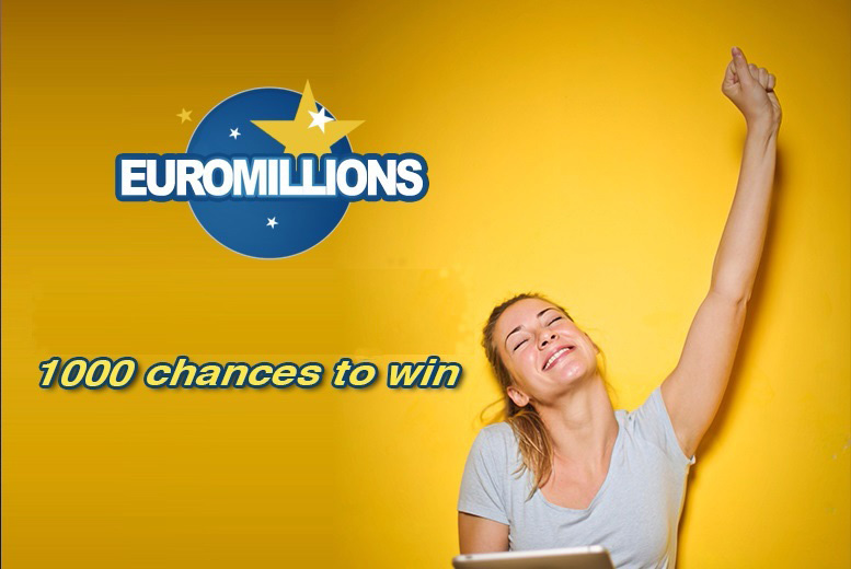 Image of £9 instead of £50 for 1,000 EuroMillions syndicate lines from Cheeky Lottos - have a go and save 82%