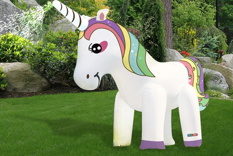 Image of £29 instead of £92 (from Eurotrade) for a giant unicorn sprinkler - save 68%