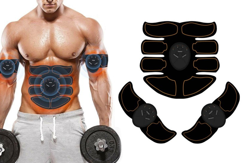 Image of £10.99 (from Wish Imports) for a smart abs stimulator!
