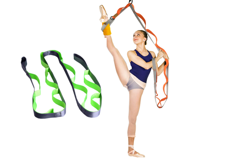 Image of £11.99 instead of £36 (from Magic Trend) for an adjustable multi-segment yoga strap - save 67%