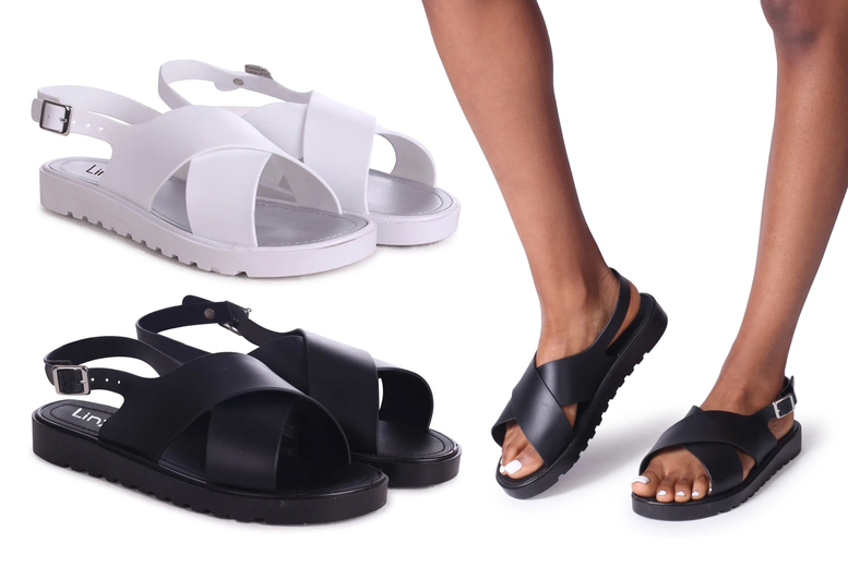 ?8.99 (from Linzi) for a pair of cross over sling back sandals, choose from two colours!