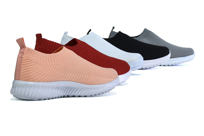 Image of £12 instead of £34.99 (from Shoe Fest) for a pair of knitted trainers - save 66%