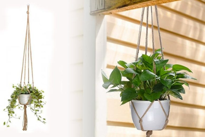 Image of From £9.99 for a macrame hanging baskets from Wish-Imports - save up to 50%