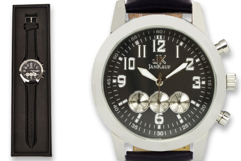 Image of £29.99 instead of £299 (from Jan Kauf) for a Jan Kauf JK1035 men's watch - Save 87%