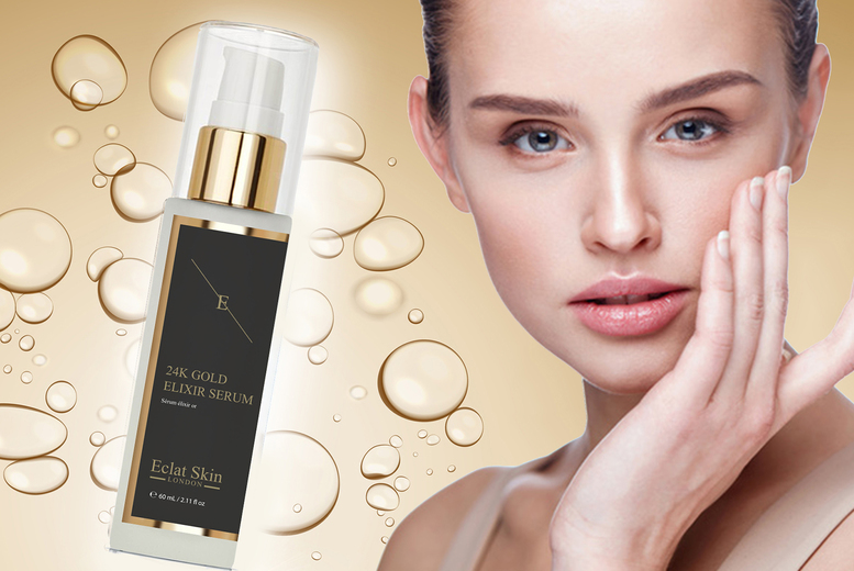 Image of £11.99 instead of £35.91 (from Eclat Skin) for a 60ml bottle of anti-wrinkle elixir serum - save 67%