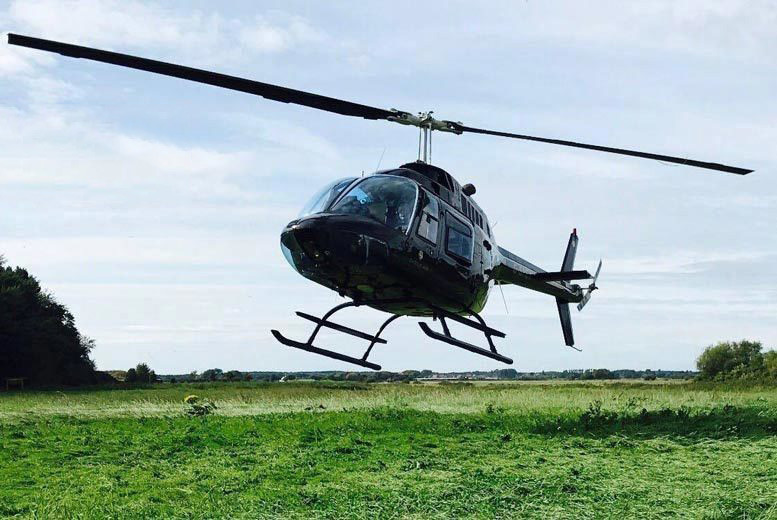 Image of £79 for a 25-mile helicopter city tour for one person, or £158 for two people from Adventure 001 - choose from 17 locations!