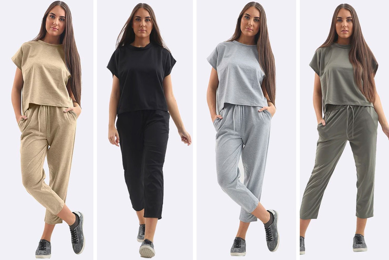 Image of £15.99 (from Love My Fashions) for a short-sleeved tracksuit set