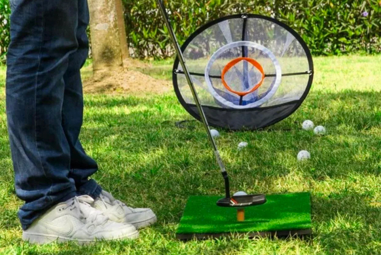 Image of £19.99 instead of £59.99 (from EC Life-Style) for a golf chipping practice net - save 67%