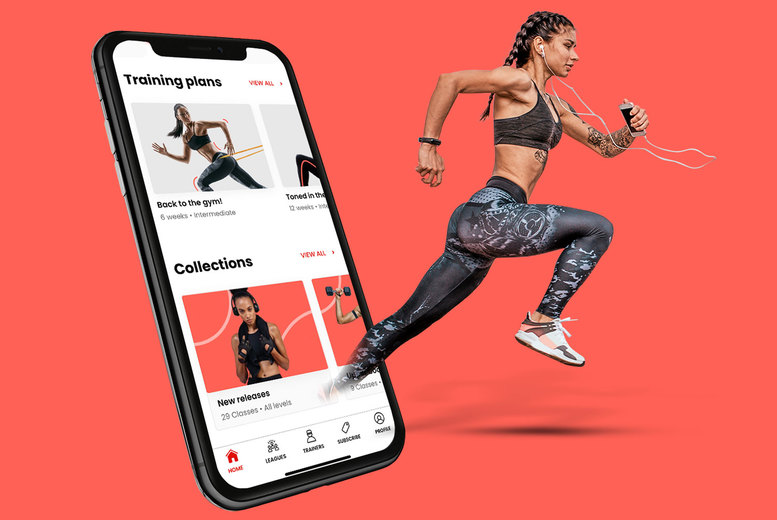 Image of £4 instead of £35.97 for a three-month subscription to the Auro Fitness App from Auro - use the no.1 home and outdoor fitness app, and save 89%