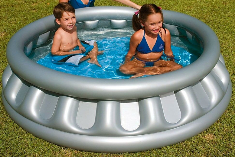 Image of £14.99 instead of £46 (from Direct2publik) for a spaceship paddling pool and save up to 67%