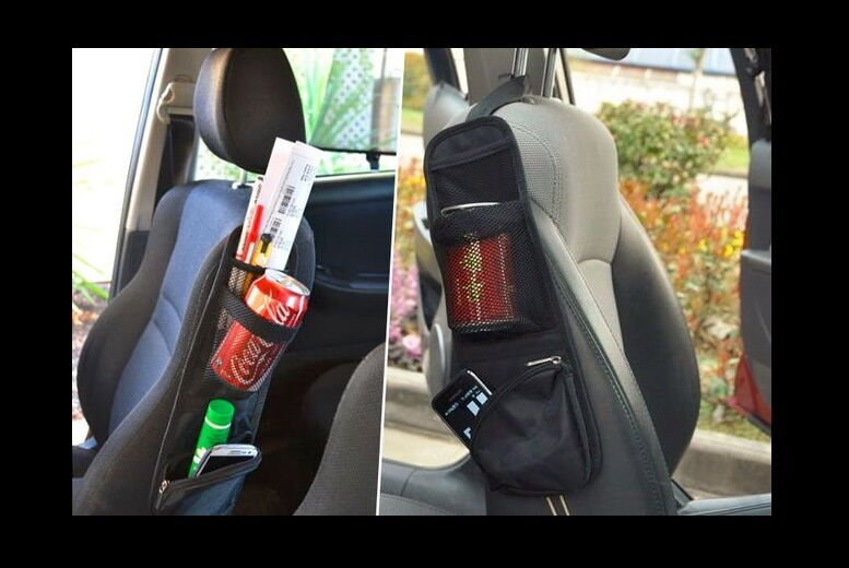 Image of £2.99 instead of £14.99 for a car seat storage pocket from London Exchain Store - save 80%