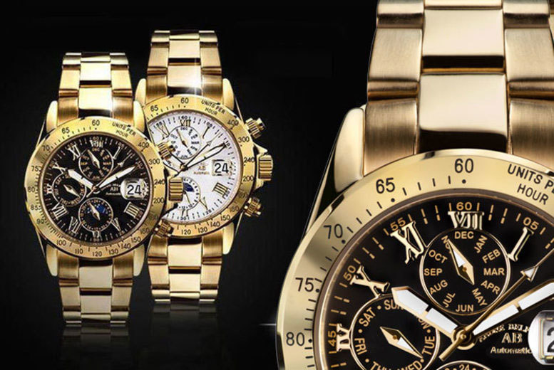 Image of From £159 for an Andre Belfort Le Capitaine watch from Rotatio - choose from seven designs