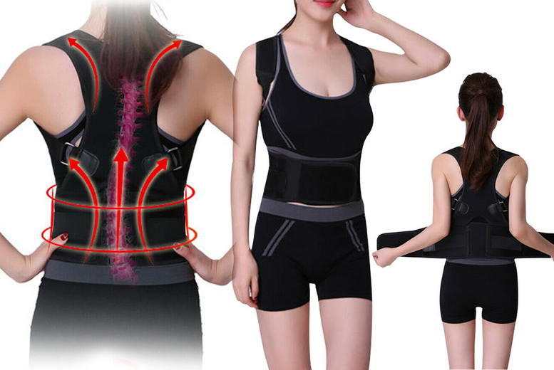 Image of £12.99 instead of £26 (from Arther Gold) for a magnetic back posture corrector - save 50%