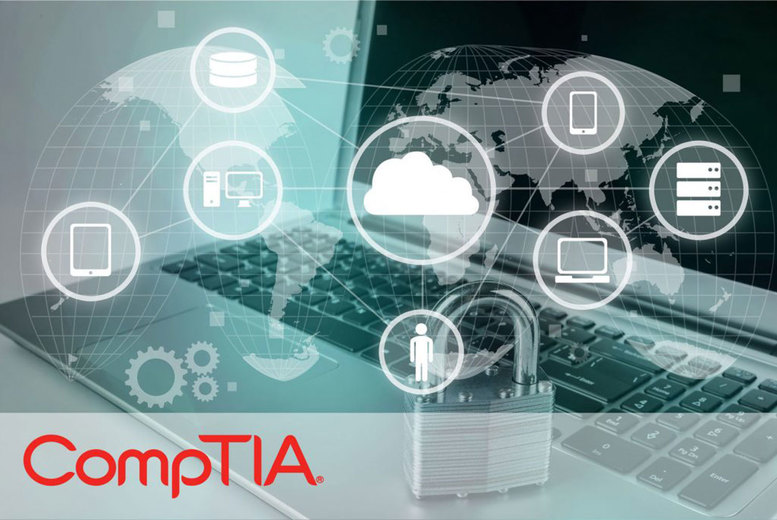 Image of £19 instead of £719 for an online CompTIA SY0-501 Security+ course from e-Courses4You - save 97%
