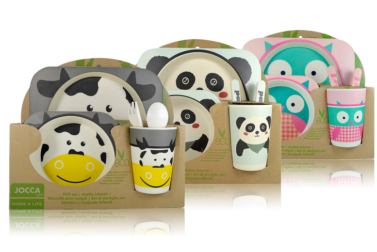 Image of £12.99 (from Brockworth) for a Jocca children's crockery set - choose from three designs!