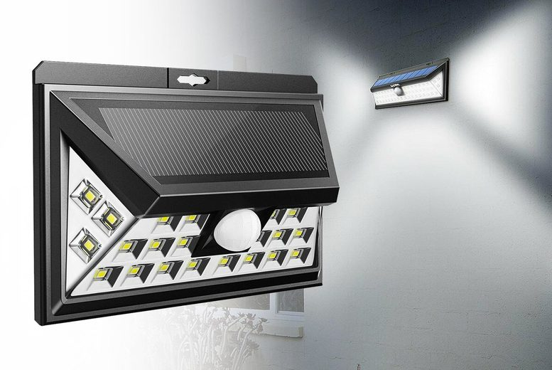 Image of £11.99 instead of £39.99 (from Backtogoo) for a wide angle motion sensor solar light - Save 68%