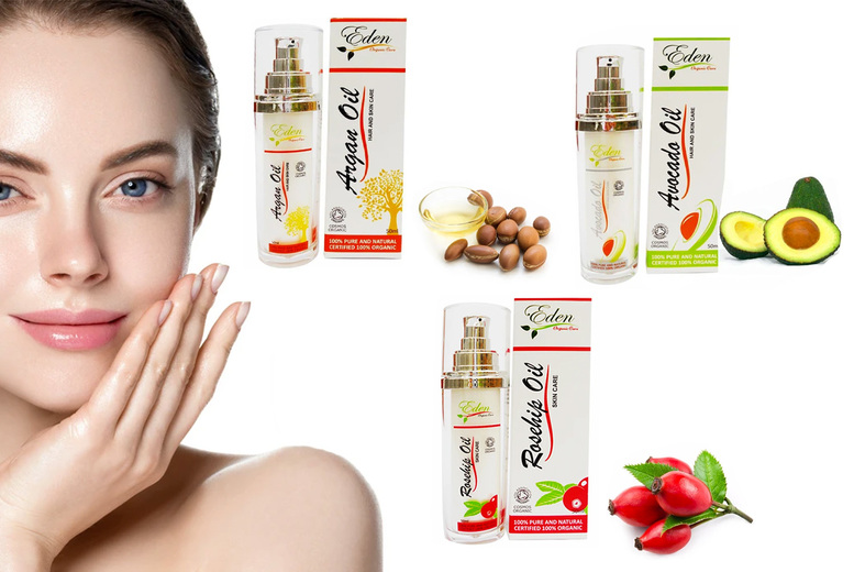 ?7.95 instead of ?35 (from Boni Caro) for a 100% organic rosehip, avocado or argan oil ? save 77%