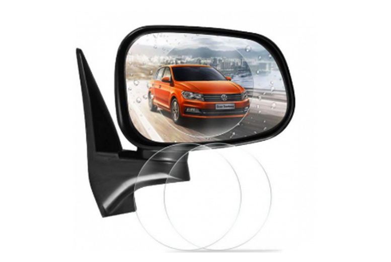 £4.99 instead of £19.99 (from Pinkpree) for a pair of rainproof car rear-view mirror shields - Save 80%