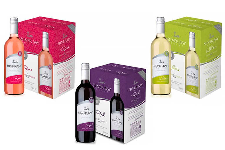 Image of £32.99 (from Anielas) for a six-bottle case of Silver Bay Point wine