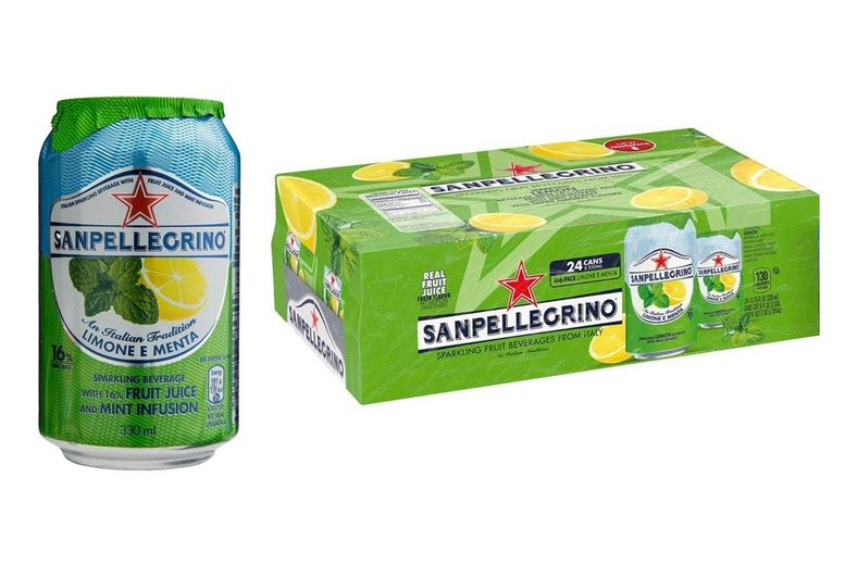 Image of £19.99 (from Bentley's Warehouse LTD) for a pack of 24 330ml San Pellegrino Pompelmo cans!
