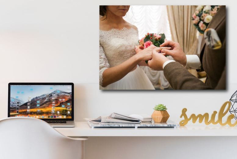 Image of From £3.99 instead of £39.99 for an A3 or A2 personalised canvas from Fab Deco Ltd - Deco Matters - save 90%