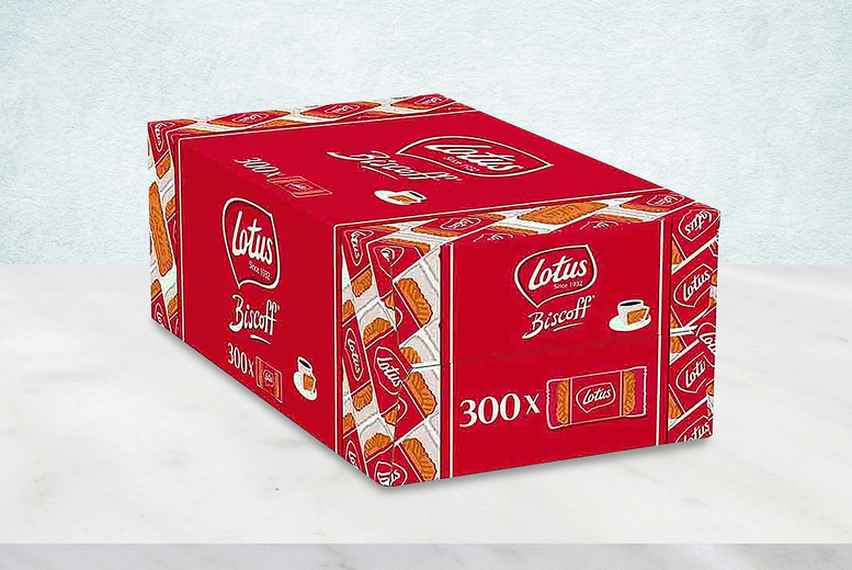 Image of £14.99 (from Anielas) for a pack of 300 Lotus Biscoff biscuits!