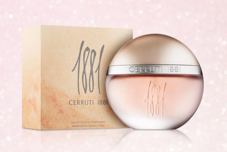 Image of £29.99 instead of £39.45 (from Anielas) for a 100ml bottle of Cerruti 1881 Pour Femme eau de toilette spray - save 24%