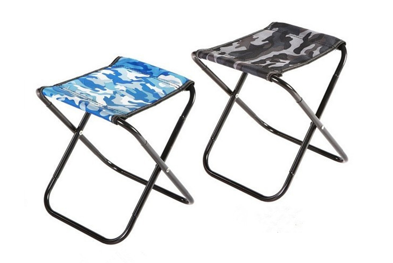Image of £12 instead of £29.99 (from Flashing Pineapple) for a portable outdoor folding stool - choose your colour and save 60%