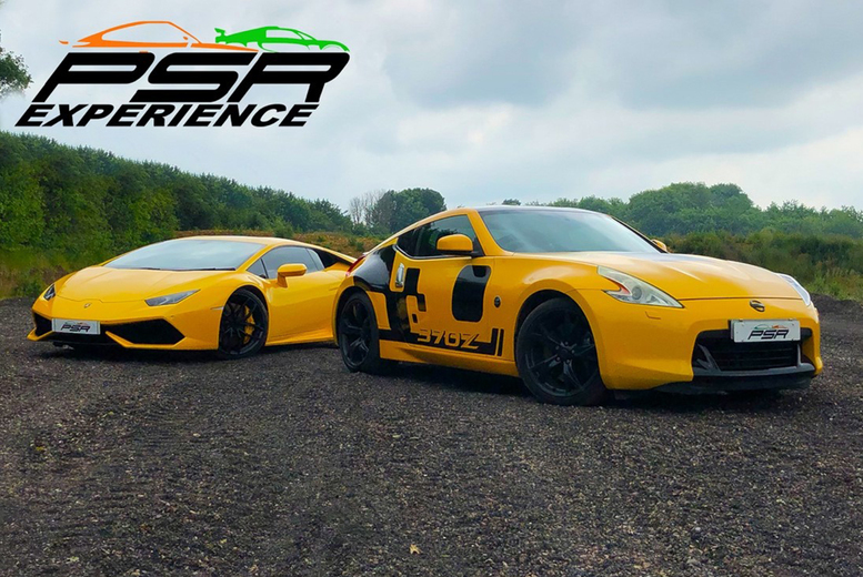 Image of From £19 for a three-lap driving experience, from £37 for six laps, or from £55 for nine laps with PSR Experience - choose from a range of exciting muscle, sports or supercars, at 11 tracks across the UK and save up to 61%