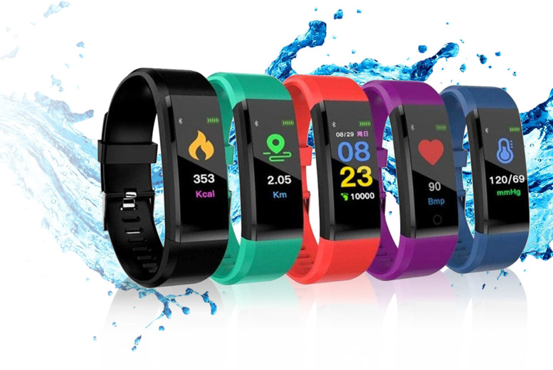?9.99 instead of ?69.99 (from Arther Gold) for a 15-in-1 fitness tracker - save 86%
