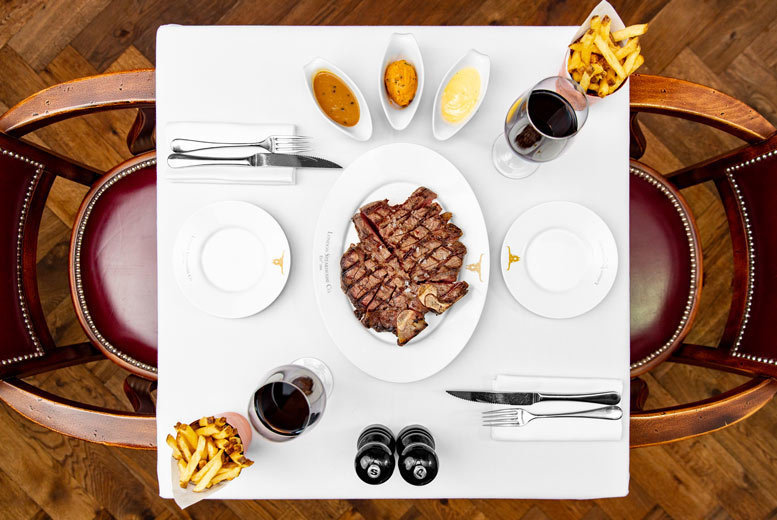 Image of £55 for three-course dining with a cocktail at Marco Pierre White's London Steakhouse Co., or £55 for three-course dining and one side dish each, or £65 for three-course dining, one side dish each and one cocktail each - save up to 50%