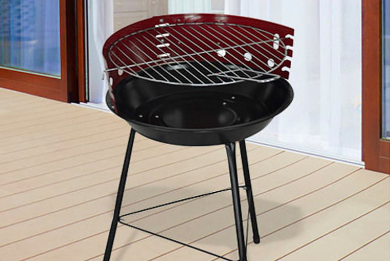 Image of £12.99 (from Direct2Publik) for a 33cm round barbecue grill!