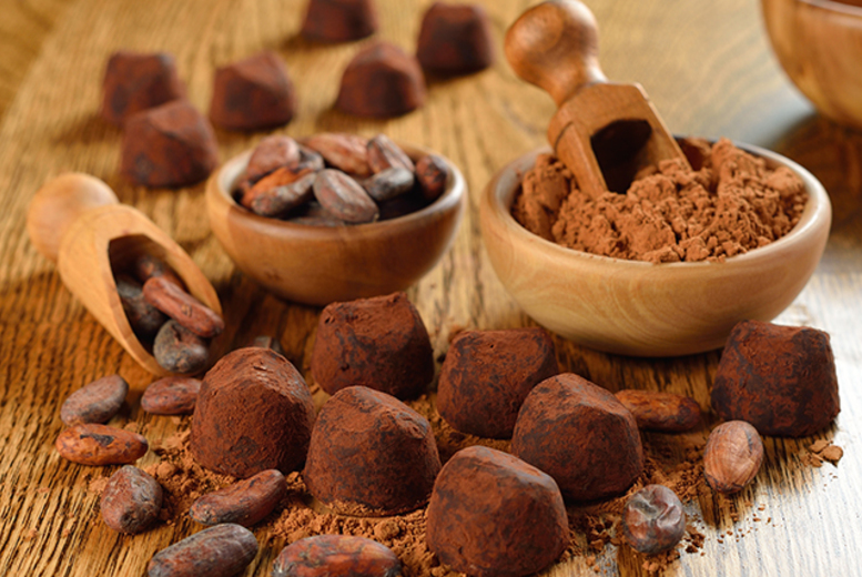 Image of £15 for an online chocolate truffle workshop from Midas Touch Crafts