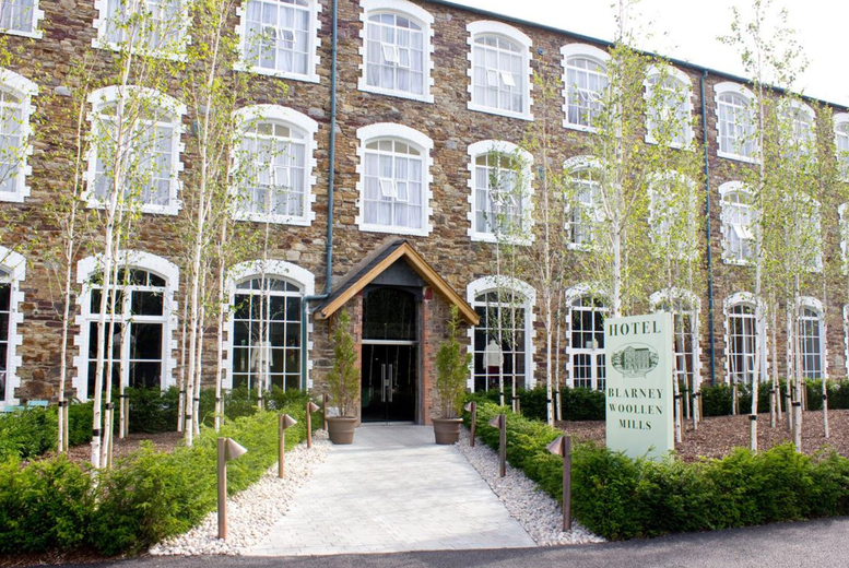 Image of From £79 (at Blarney Woollen Mills Hotel) for an overnight stay for two people with breakfast and late check out, from £199 to include a 2-course dinner each on the first night, from £134 for two nights, or from £234 for three nights - save up to 38%