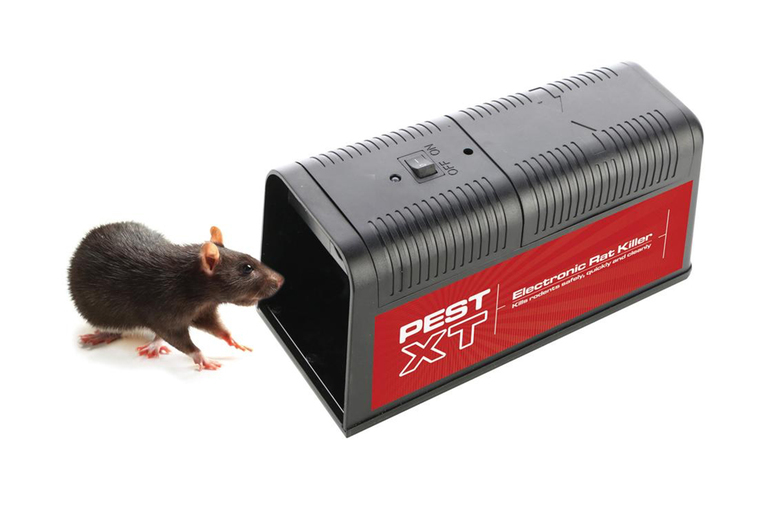 Image of £19.99 instead of £49.99 (from CJ Offers) for an electronic rat trap - save 60%