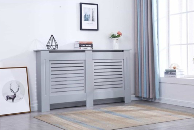 Image of From £29 instead of £53.99 (from Dreams Outdoors) for a wooden radiator cover - choose from small, medium, large and extra large and save up to 46%