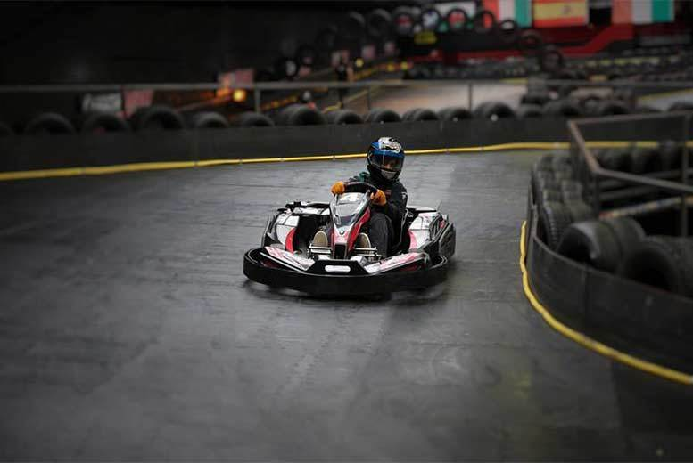 Image of £19 instead of £38 for 50 laps of go-karting and one-year karting centre membership for one person at Cannon Raceway, Bilston - save up to 50%