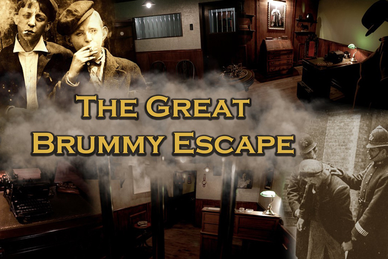 Image of £54 instead of £96 for 'The Great Brummy Escape' room for up to eight people at Cannon Raceway, Wolverhampton - save 44%