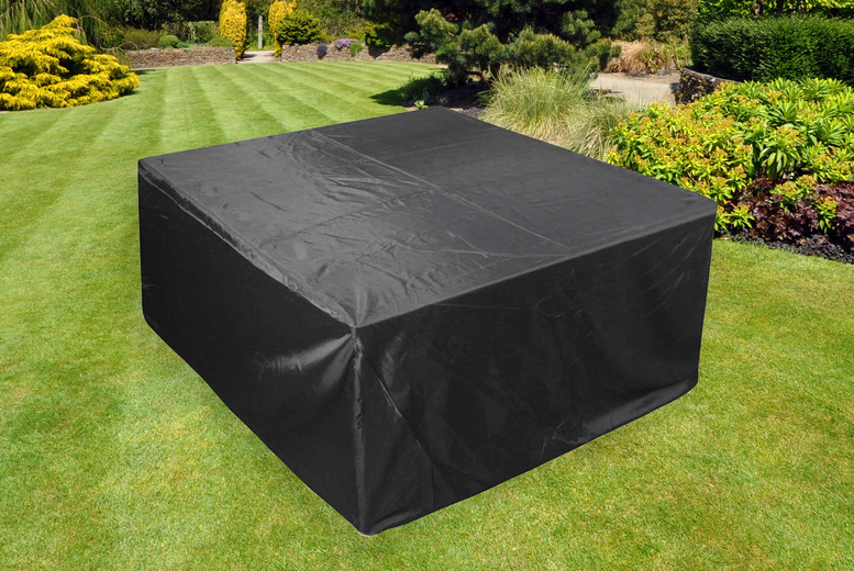 Image of From £7.99 instead of £29.99 for a 120 x 120 x 74cm outdoor table cover from Wish Whoosh Offers - choose between seven sizes and save up to 73%