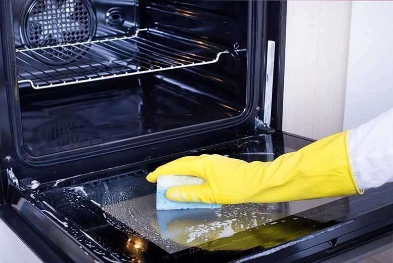 Image of £34 for a professional single oven clean, £54.99 for a double oven, £79.99 for a range oven, or £99.99 for an AGA oven with Oven Support - save up to 51%