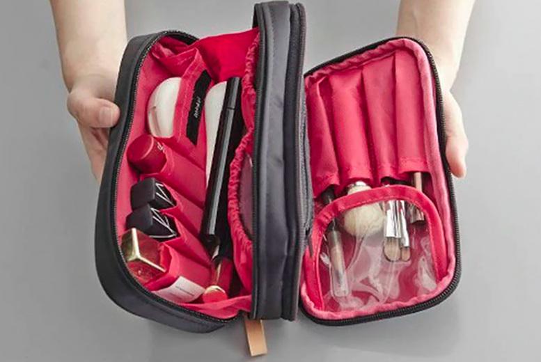 ?9.99 for a double zipper cosmetics bag