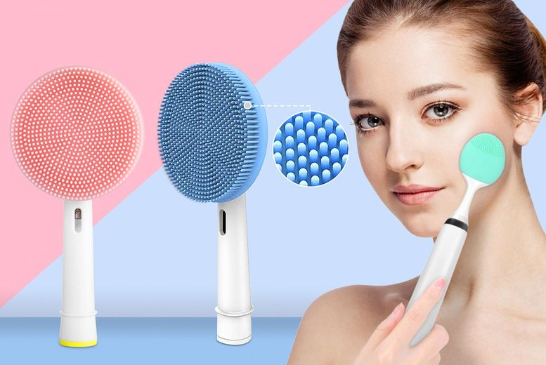 Image of From £5.99 instead of £19.99 for an Oral-B or Phillips compatible facial cleansing brush head from MBLogic! - save 70.04%