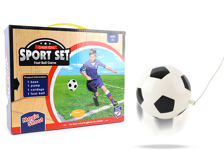 Image of £11.99 instead of £69.99 for a children's football training set from Magic Trend - save 83%